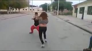 Midget vs. Shemale Fight