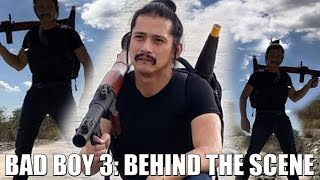 HOT ISSUE: Robin Padilla, Bad BOY 3 Behind the Scene Pictures