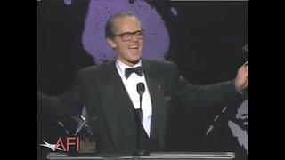 Jack Nicholson accepts the AFI Life Achievement Award in 1994