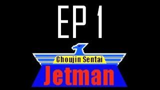 Vamos a jugar Choujin Sentai Jetman - EP 1 Soy el peor Power Ranger de la historia