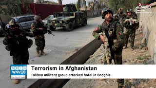 Taliban militants storm hotel in Afghanistan, killing eight people