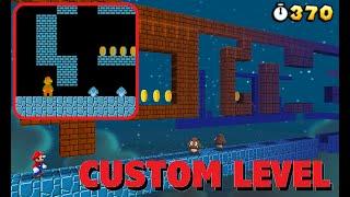 Super Mario Bros W1-2 in Super Mario 3D Land [CUSTOM LEVEL]