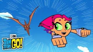 Dinosaur Battles | Teen Titans Go! | Cartoon Network