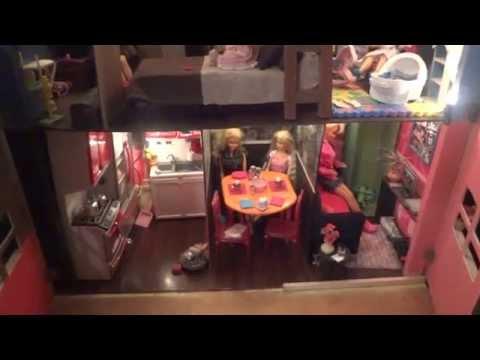 Video Completo Mi Casa de Muñecas Barbie Not reborn related