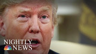 Trump Fires Back After Rep. Justin Amash Calls His Conduct 'Impeachable' | NBC Nightly News