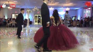 شاهد هذه العروس كيف ترقص مع اخوانها على اغنية يا ليلي يا ليلة رمكس