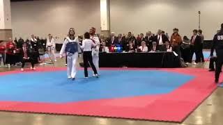 Taekwondo 2018 USAT Team Trials Steven Lopez