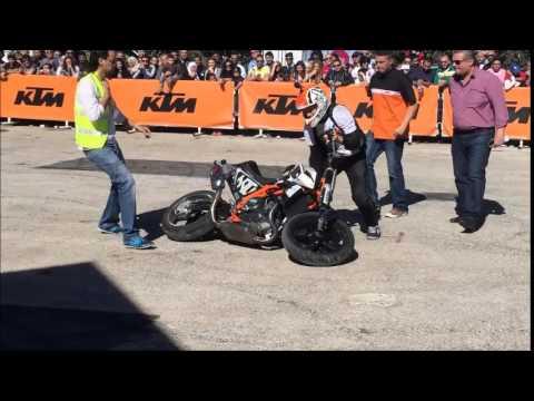 Rok Bagoros - Stunt Fail on KTM Duke