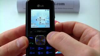 LG GS105 Unlock & input / enter code.AVI