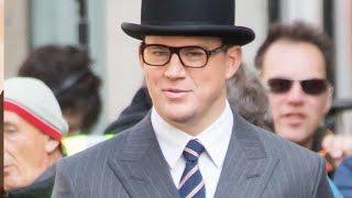 Channing Tatum Spotted On Kingsman 2 Set