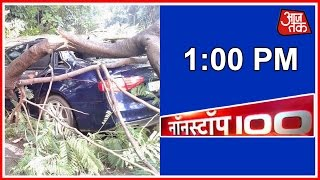 Non-stop 100 | July 2, 2016 | 1 PM - Over 200 Trees Uprooted Due To Rain In Mumbai
