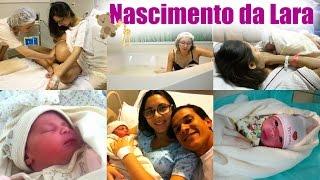 VLOG: NASCIMENTO DA LARA - PARTO NORMAL HUMANIZADO | Paula Souza
