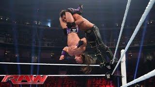 Neville vs. Seth Rollins - WWE World Heavyweight Championship Match: Raw, Aug. 3, 2015