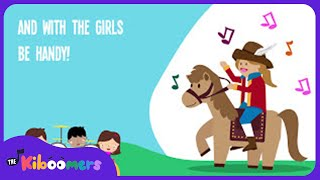 Yankee Doodle Dandy Song for Kids With Lyrics | Fun Nursery Rhymes for Children | The Kiboomers