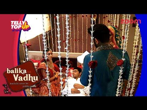 Kunda Tries To Rape Nandini In 'Balika Vadhu' | #TellyTopUp