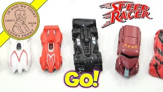 Speed Racer McDonald's 2008 Kids Happy Meal Fast Food Toys