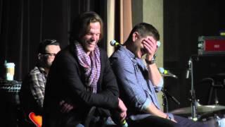 Jared and Jensen at The Supernatural Convention Nashville 2016