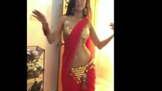 Naila Nayem hot belly dance
