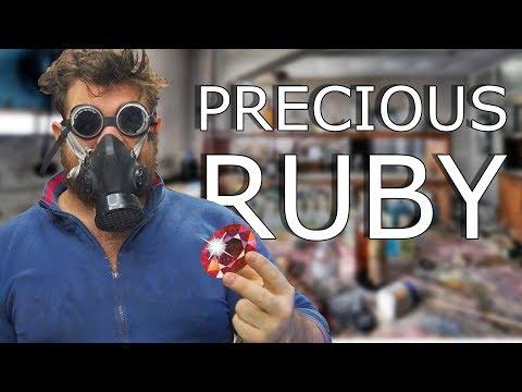 How to Make precious Ruby at Home 4K