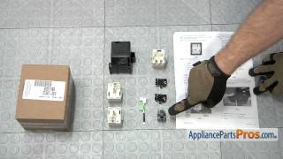 Refrigerator Compressor Starting Device Kit (part #8201786)-How To Replace