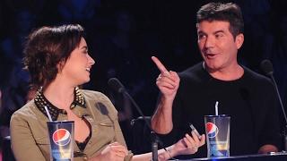 Demi Lovato and Simon Cowell X Factor Funny Moments Part 1