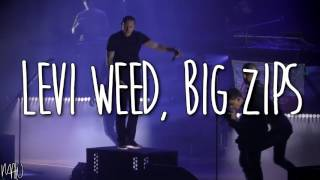 Linkin Park Ft. Machine Gun Kelly - Bleed It Out (With Lyrics)