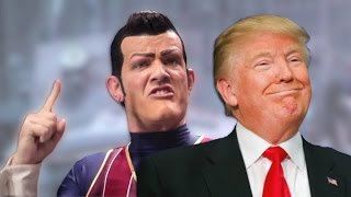 We Are Number One but it's bing-bonged by Donald Trump (featuring his political friends)