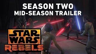 Star Wars Rebels Season Two - Mid-Season Trailer (Official)