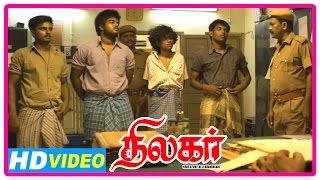 Thilagar Tamil Movie | Scenes | Boy is called to identify criminals | Kishore | Dhruvva