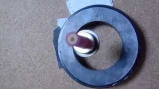 Levitacíón magnética. Levitrón