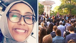Fire Set To Muslim Teen's Memorial