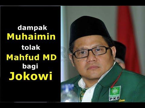 Menguji Alasan Muhaimin Tolak Mahfud dan Dampaknya bagi Jokowi
