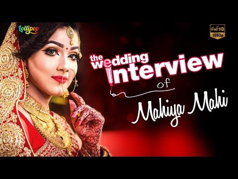 Xxx Mp4 Exclusive Wedding Interview Of Mahiya Mahi BD Actress HD 2016 3gp Sex