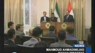 News - Iran Press TV - Ahmadinejad Greeted Warmly in Iraq