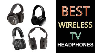 Best Wireless TV Headphones 2018