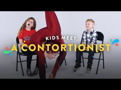 Kids Meet a Contortionist Kids Meet HiHo Kids