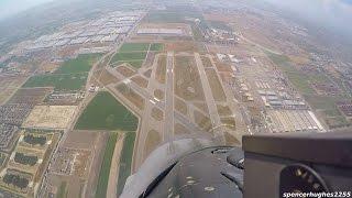 F-16 Viper Demo & Heritage Flight (FORWARD COCKPIT VIEW)
