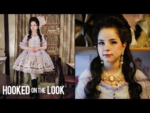 Xxx Mp4 Living As An 18th Century Lolita HOOKED ON THE LOOK 3gp Sex