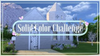 White chapel conversion | The Sims 4 Solid Color Challenge (stop motion)