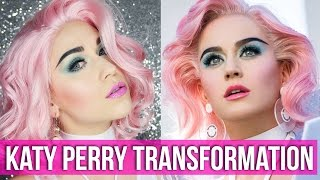 Katy Perry Makeup Transformation - Chained to the Rhythm // Copy Cat | HISSYFIT