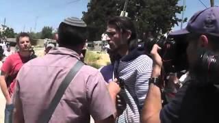 فلسطيني يقوم بضرب مستوطن صهيوني بالقدس المحتلة