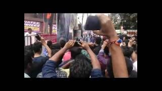 FDFS Pulimurugan || Mohanlal Fans Reaction || Aluva Matha||