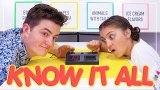 Know-It-All Challenge | Kamri Noel