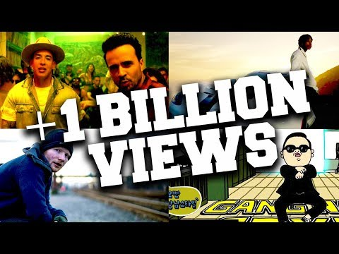 Top 100 Songs Over 1 Billion Views