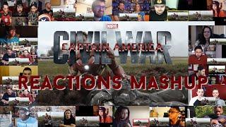 Captain America: Civil War - Trailer #2 - Reactions Mashup