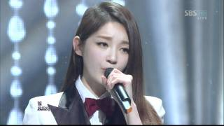 T-ara ft. Davichi - We Were In Love (120108 SBS Inkigayo)
