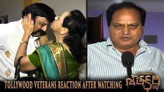 Tollywood Veterans Reaction After Watching Gautamiputra Satakarni - Nandamuri Balarishna, Krish