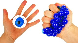 Learn Colors with Squishy Balls for Kids