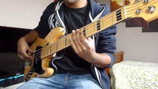 Michael Jackson - The lady in my life Bass Cover