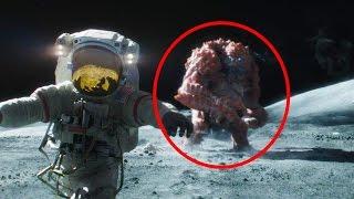 5 أشياء غريبة التقطتها كامرات ناسا على سطح القمر..!!